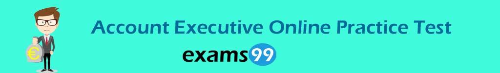 Account Executive Online Practice Test