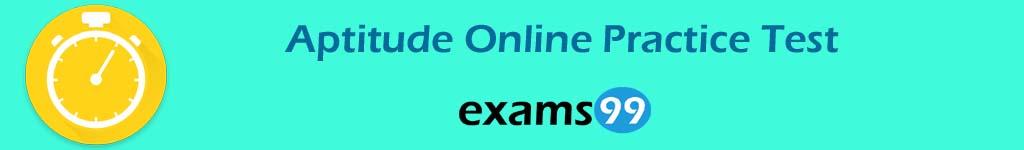Aptitude Online Practice Test