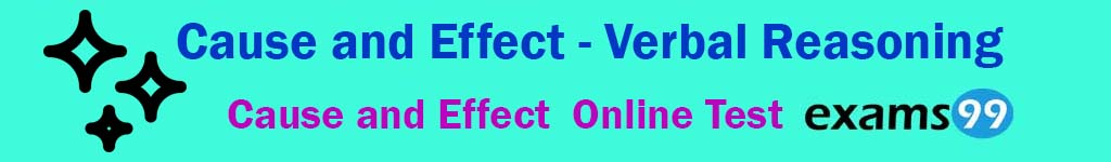 Cause and Effect Online Practice Test