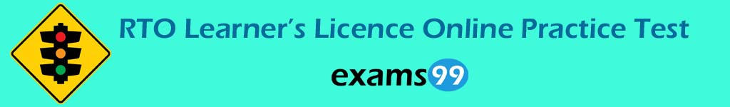 RTO Learners Licence Online Practice Test