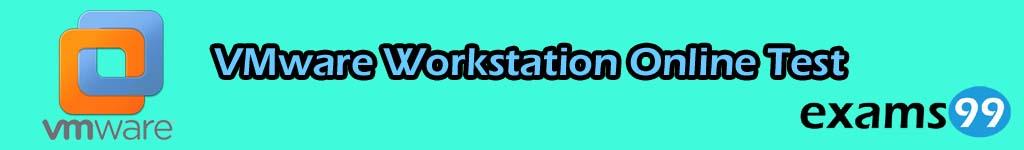 VMware Workstation Online Test