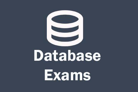 Free Online Database Exams Online Tests