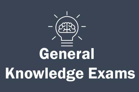 Free Online General Knowledge Exams Online Tests