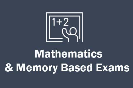 Free Online Mathematics & Memory Based Exams Online Tests